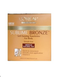L'Oreal® Body Expertise Sublime Bronze™  Self-Tanning Towelettes for Body