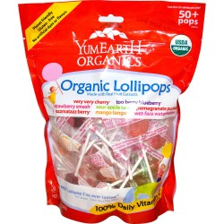 YumEarth® Organics Organic Fruit Lollipops by YummyEarth, Inc.