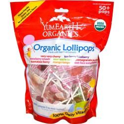 YumEarth® Organics Organic Fruit Lollipops by YummyEarth, Inc.