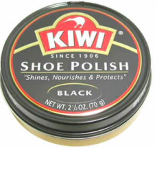 Kiwi®  Shoe Polish (in black)