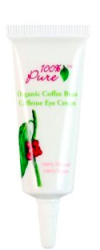100% Pure Organic Coffee Bean Caffeine Eye Cream