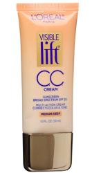 L'Oreal Paris Visible Lift® CC Cream (Multi-Action Cream; Broad Spectrum SPF 20)