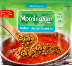 Kellogg Company Morningstar Farms® Meal Starters Grillers® Recipe Crumbles™