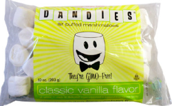 Dandies® Air-Puffed Marshmallows (classic vanilla flavor)