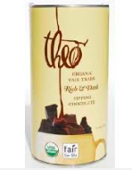 theo® Chocolate Organic Fair Trade Peppermint Sipping Chocolate