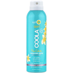 Coola® Sport Sunscreen Spray, SPF 35 (Pina Colada)