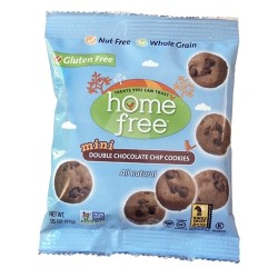 Home Free®  Mini Double Chocolate Chip Cookies