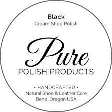 Pure Polish Water Resistant Cream Polish (in black)