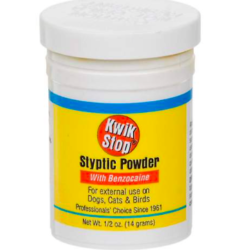 Gimborn Kwik Stop Styptic Powder